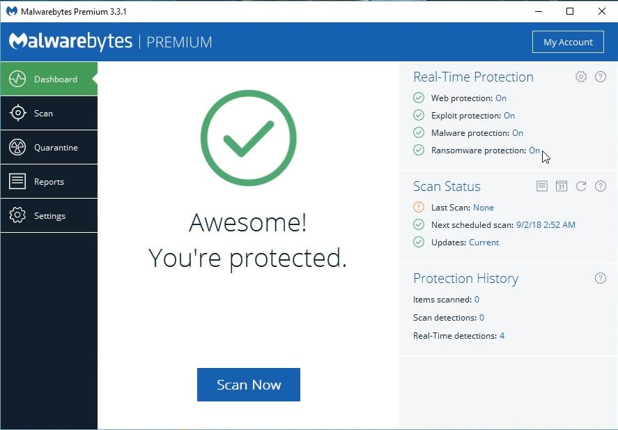malwarebytes 3.6.1 license key