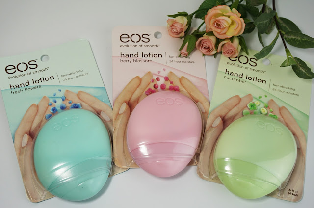 EOS - Hand Lotions (Fresh flowers, berry blossom, cucumber)