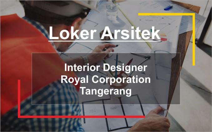 loker arsitek interior designer tangerang