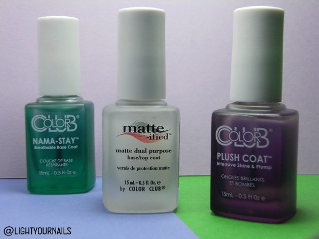 Color Club Nama-Stay, Matte-ified, Plush Coat