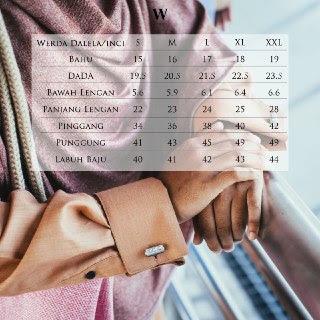 Chart Size Werda Dalela tunic
