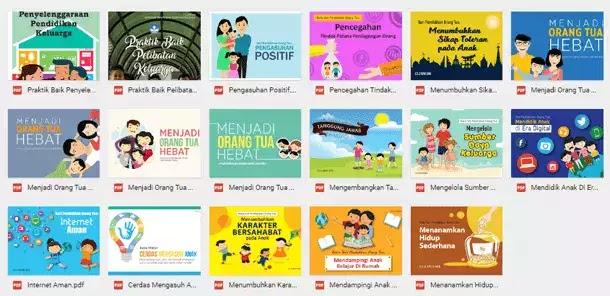 Buku Seri Pendidikan Orang Tua untuk Anak Usia PAUD, SD, SMP, SMA, SMK