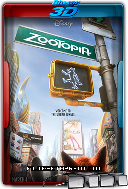 Zootopia Torrent 2016 1080p 3D Half-SBS