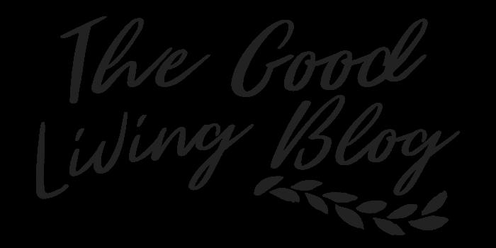 Logo from thegoodlivingblog.com