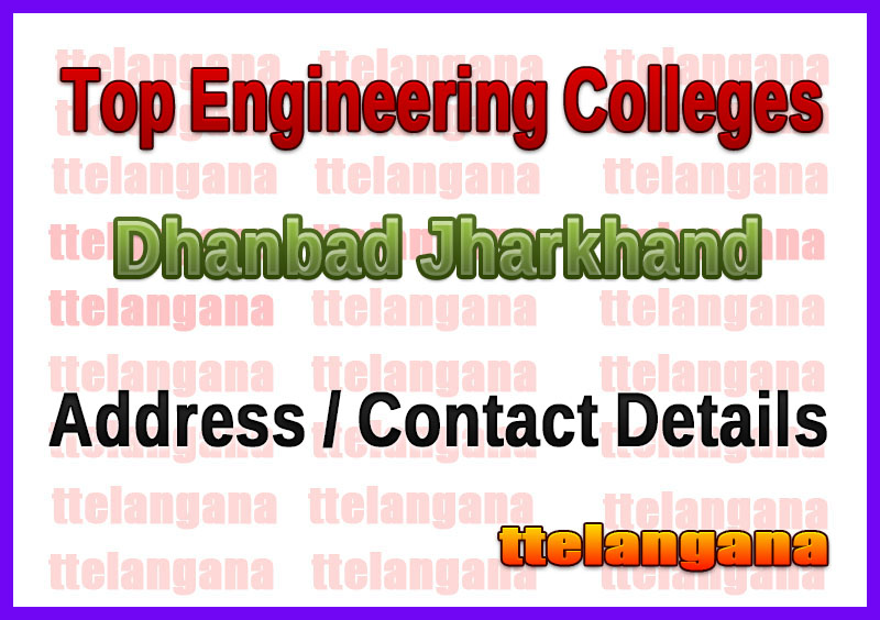 Top Engineering Colleges in Dhanbad Jharkhand