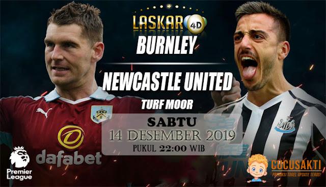 Prediksi Pertandingan Bola Burnley Vs Newcastle United 14 Desember 2019