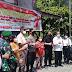 HUT Bhayangkara ke-75, Vaksinasi Massal Covid-19 Digelar di Samosir