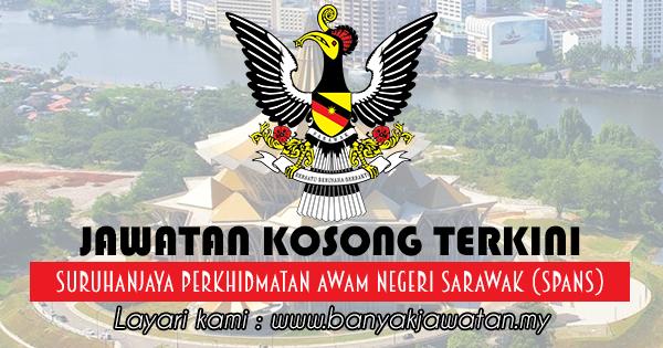Jawatan Kosong 2017 di Suruhanjaya Perkhidmatan Awam Negeri Sarawak (SPANS)