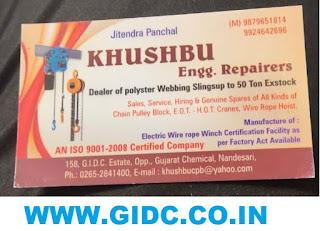 KHUSHBU ENGG. REPAIRERS - 9879651814 9924642696