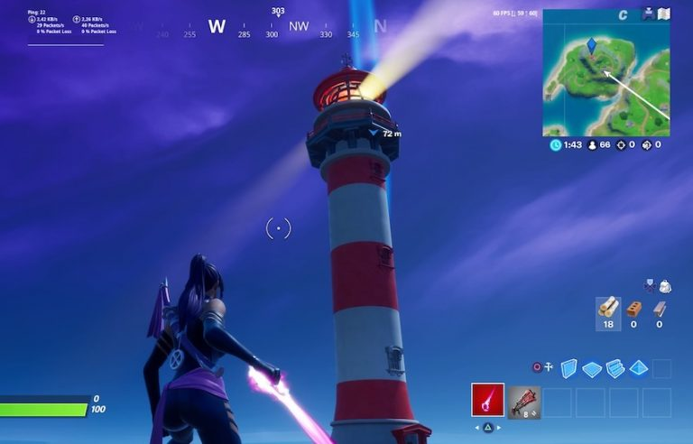 Here you can see the lighthouse that you should visit