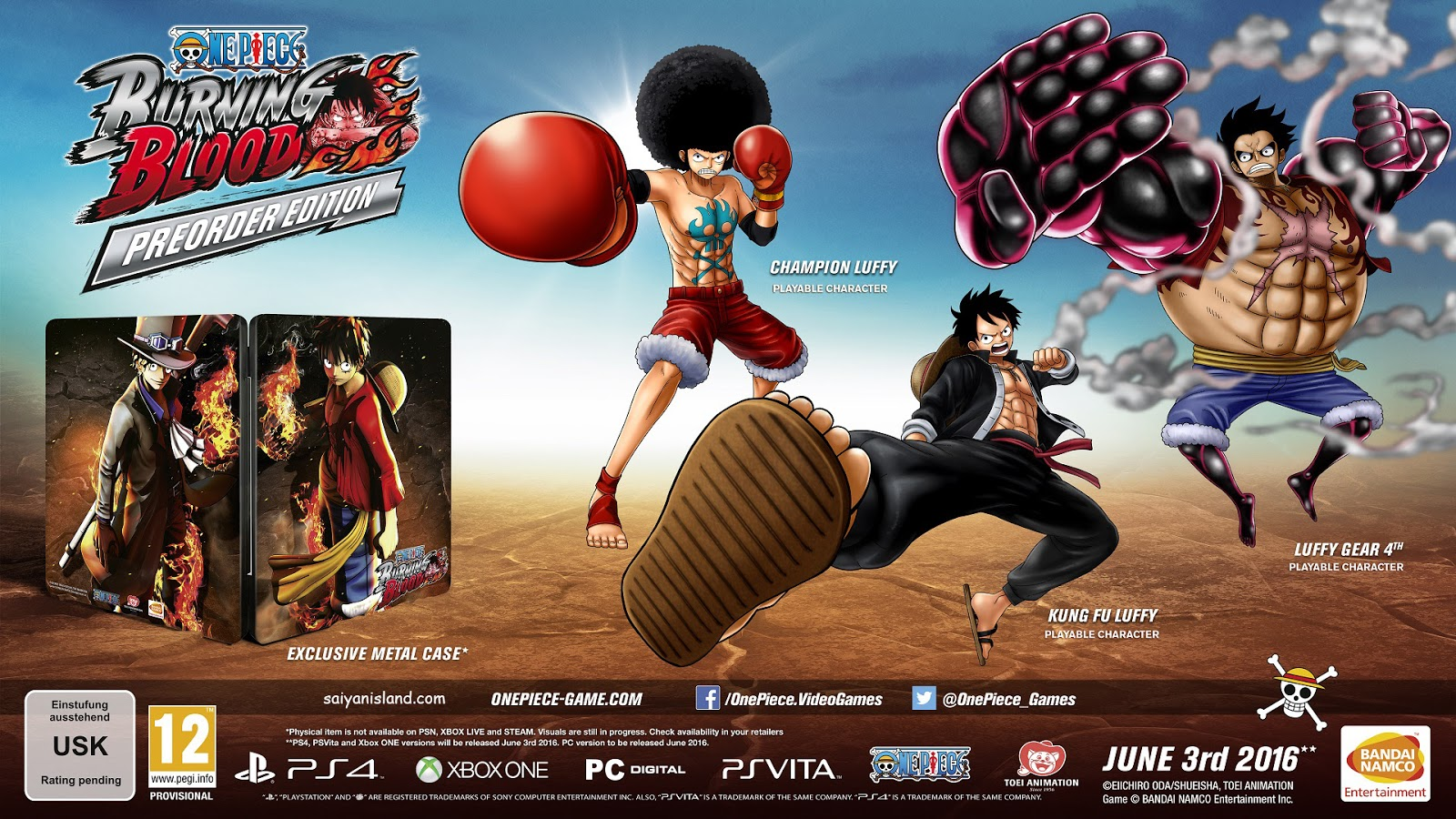 One Piece Burning Blood Download PC Game Gold Eidtion ...