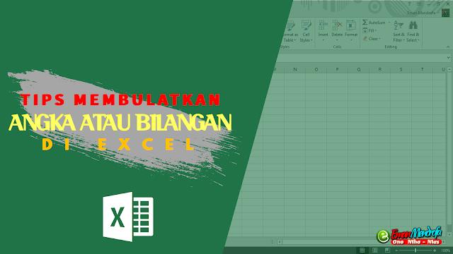 Cover - Pembulatan Bilangan Excel