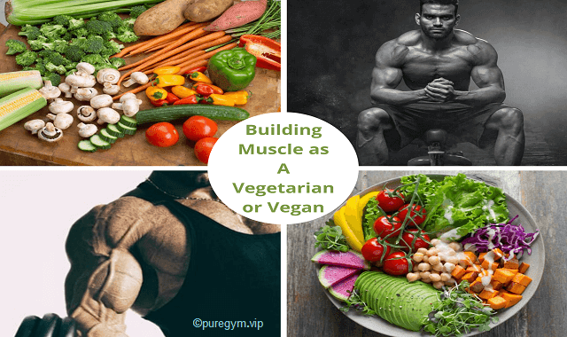 Tips How To Building Muscle as A Vegetarian or Vegan