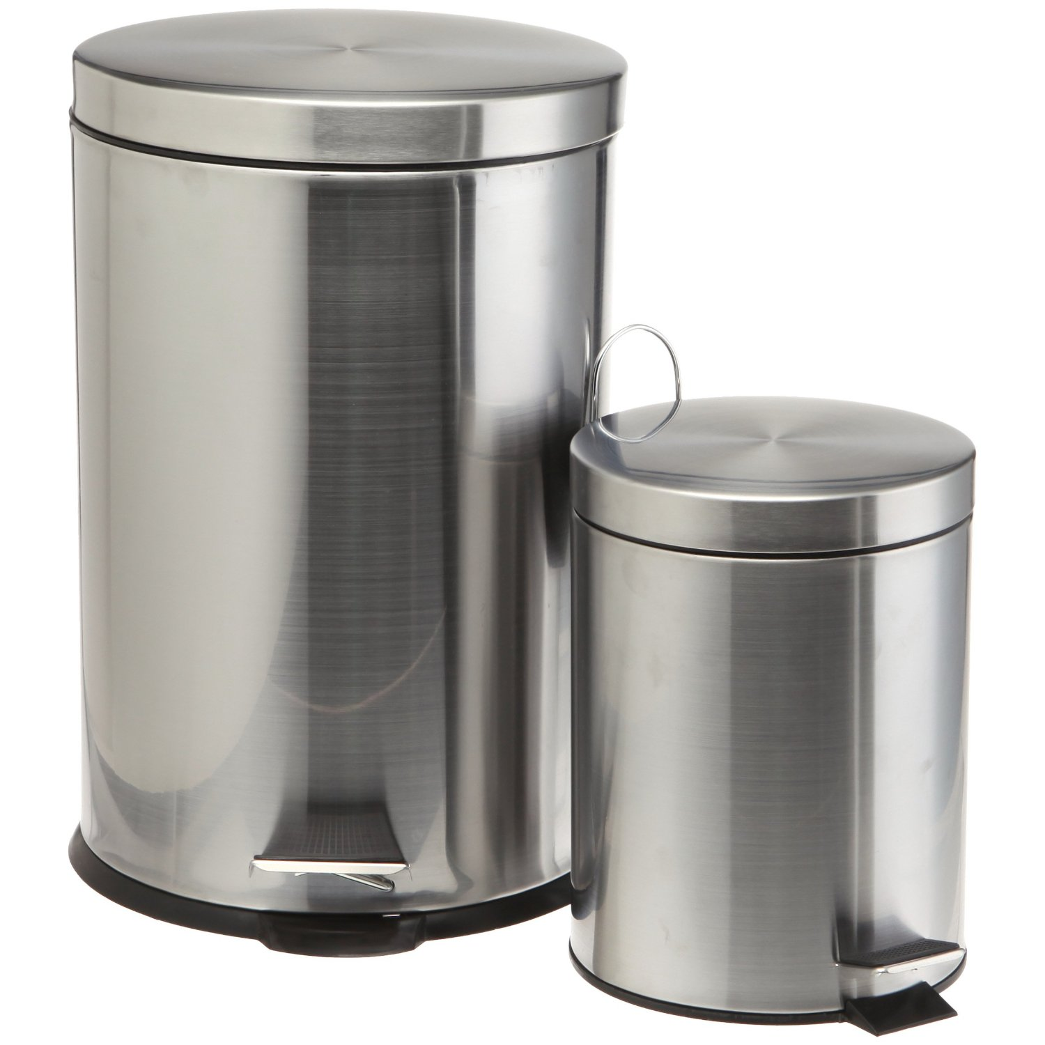 Rvs Vuilnisbak Stainless Steel Trash Cans Polished