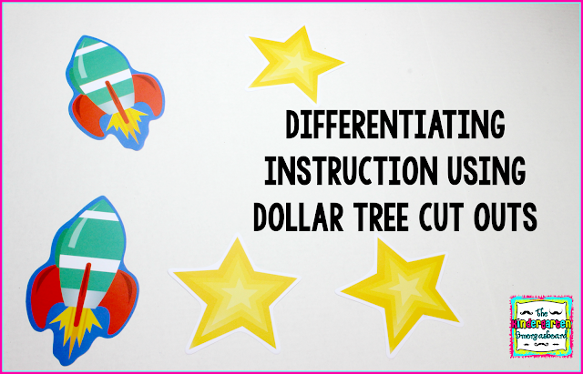 Differentiating Instruction With Dollar Tree Cut Out Smedleys