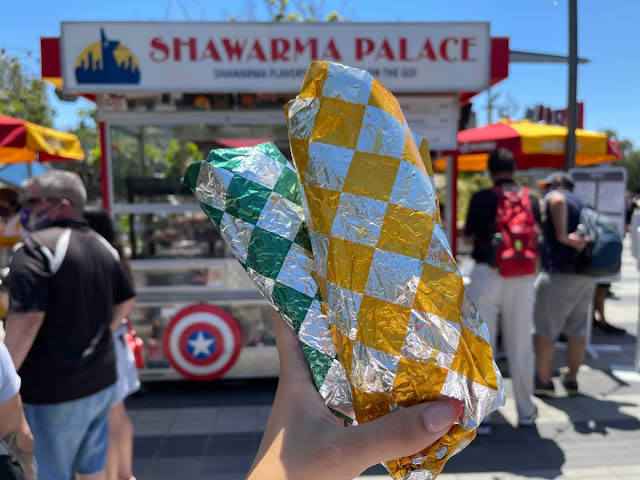 Marvel-Avengers-Campus-Disneyland-Opening-Pym-Test-Kitchen-Food-Beverage-Shawarma-Palace-Power-Infinity-Gauntlet