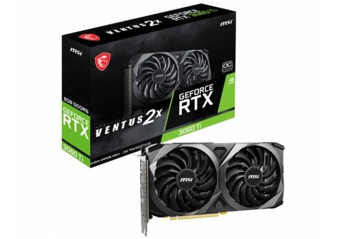 RTX 3060Ti Ventus 2X OCV1 GPU
