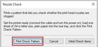 Mengatasi Tinta Printer Canon Tidak Keluar