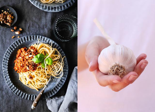 Pasta mit veganer Linsenbolognese