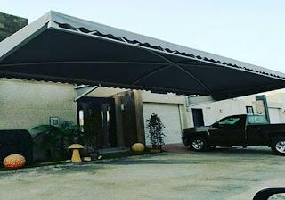 مظلات خارجية للسيارات