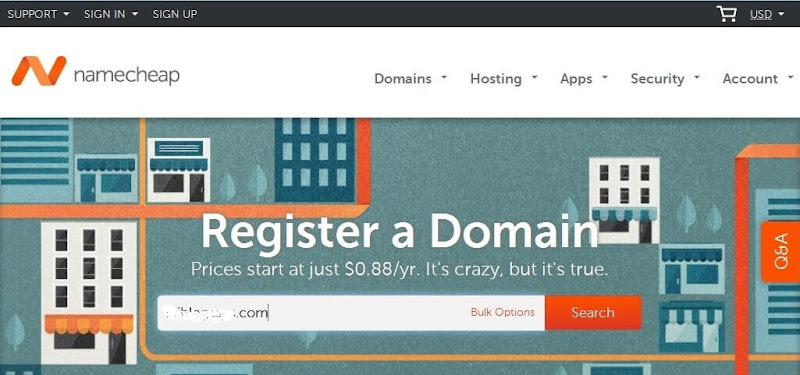 Cara Custom / Mengganti Domain Blogspot Jadi Dot Com Di NameCheap