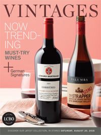 LCBO Wine Picks from August 20, 2106 VINTAGES Release