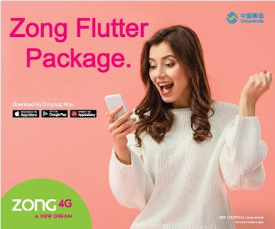 Zong Flutter Package Subscription & Unsub Code