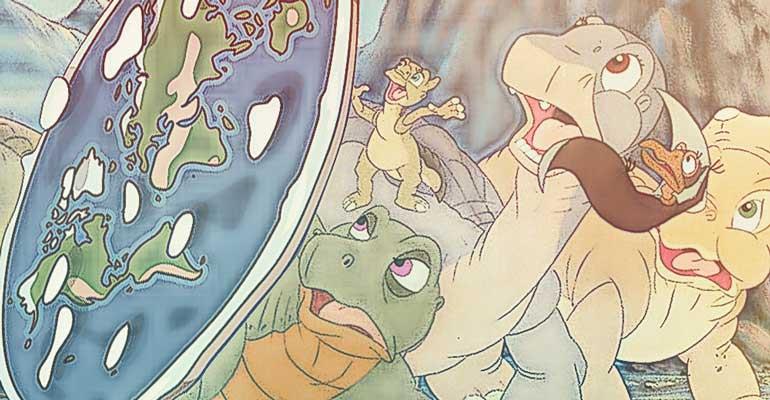 dinozaury i płaskoziemcy