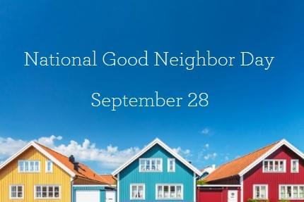 National Neighbor Day Wishes