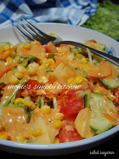 cara membuat salad sayuran