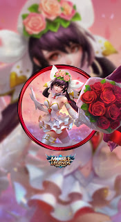Layla Cannon and Roses Heroes Marksman of Skins Event Valentine V1