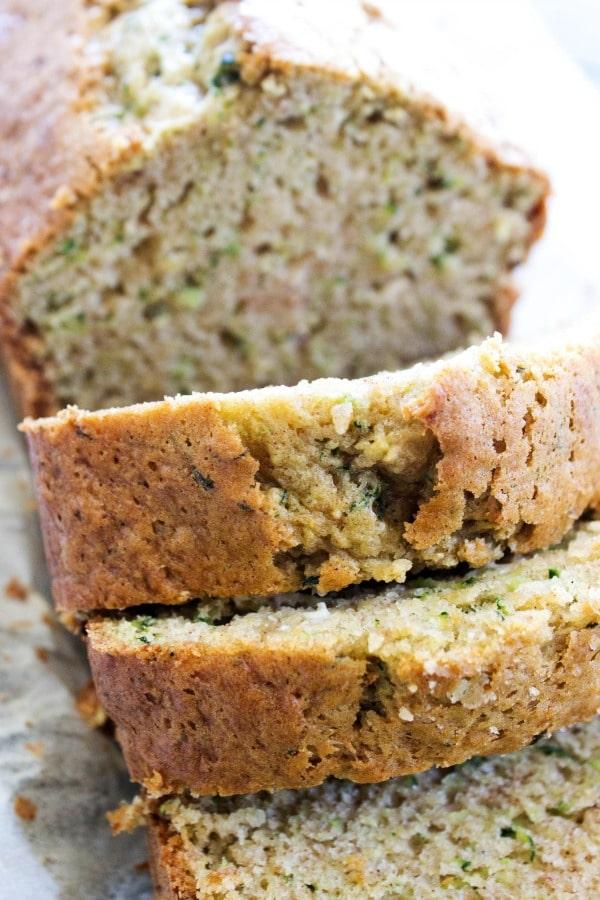 Best Ever Zucchini Bread #zucchini #desserts #healthycake #yummy #pie