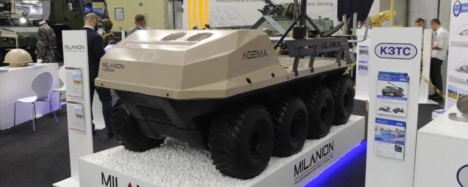 Українська бронетехніка стала ділером еміратських роботів
