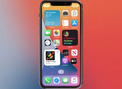 Widget iPhone