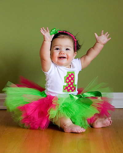 Scribbles From Tricia: 1st Birthday Photo Shoot