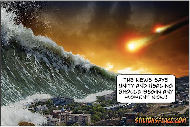 stilton's place, stilton, political, humor, conservative, cartoons, jokes, hope n' change, biden, trump, election, media, lies, recount, chaos