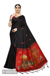 Khadi Silk Printed Saree