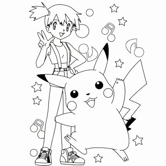 Tranh tô màu Pokemon 75