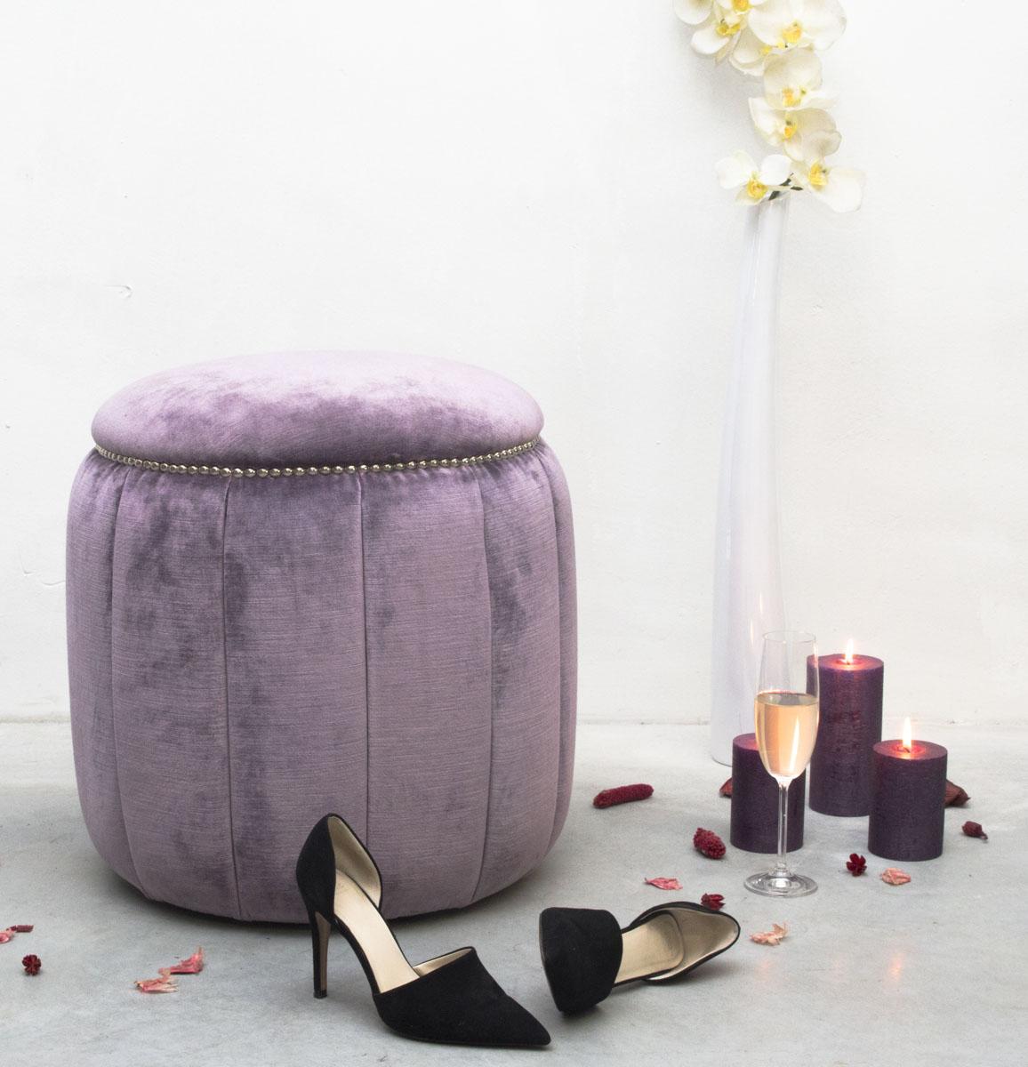 orchids loft hocker fusshocker ottoman. Black Bedroom Furniture Sets. Home Design Ideas