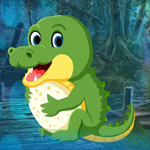 Games4King Tiny Crocodile Escape