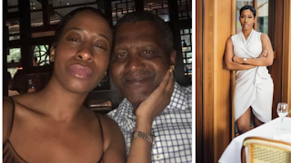 Aliko Dangote's side chick Bea lewis