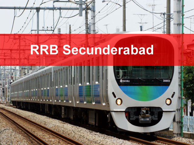 RRB Secunderabad 2018 Application Status Exam date Group D Loco Pilot