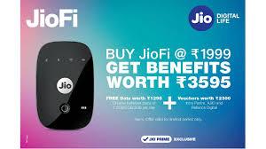1,999 रुपये में खरीदें JioFi,