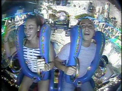 This couple had the ride of their lives!