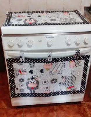 Kit cobre forno e cobre fogão