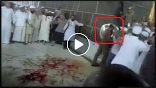 [VIDEO] Darah Berceceran di Samping Ka'bah