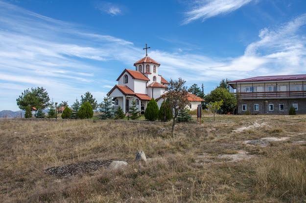 Saint Athanasius Monastery near Staravina village