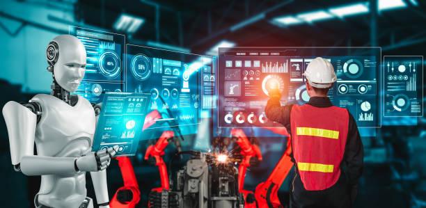 ilustrasi teknologi informasi 4.0