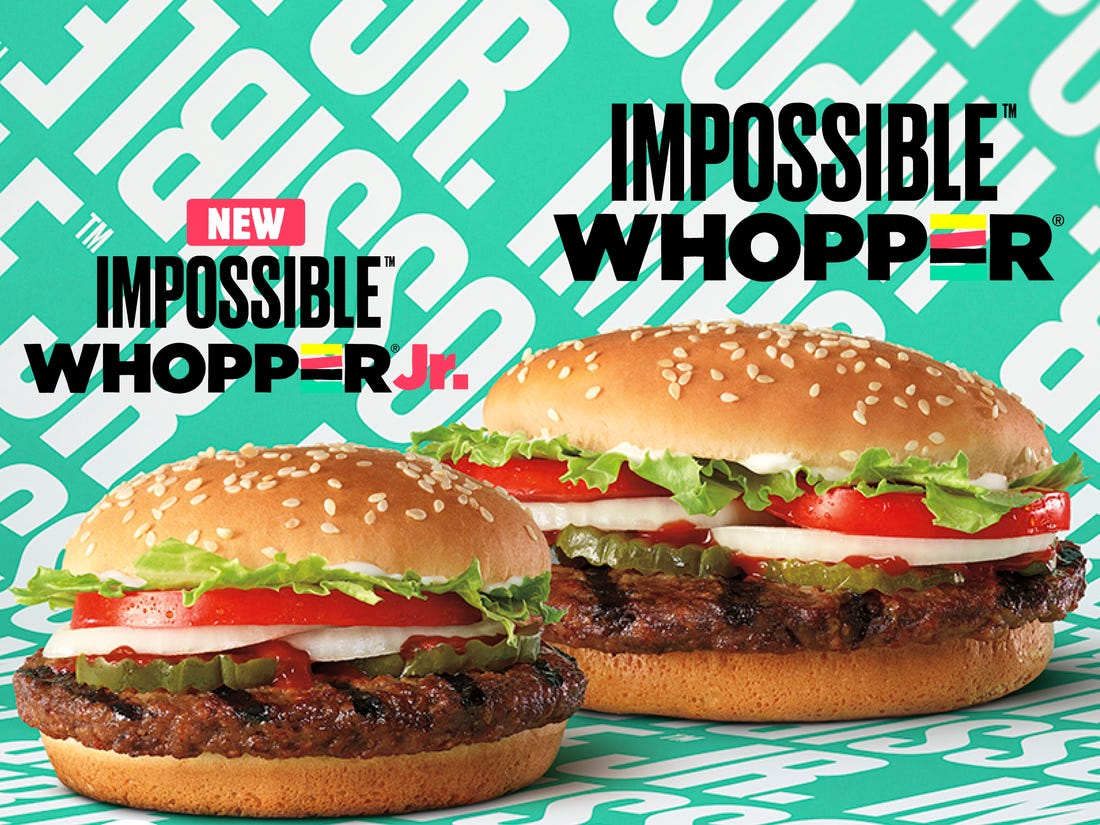 In My Opinion - The Impossible Whopper Review