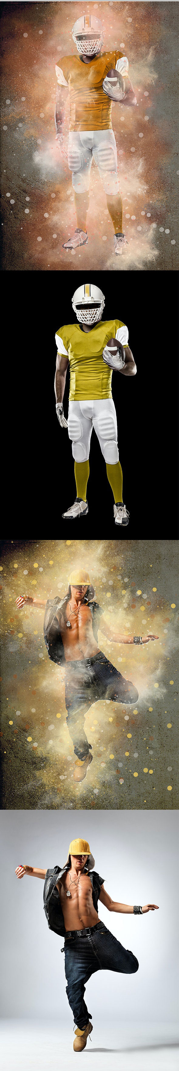 GraphicRiver Explosion Photoshop Action 26570473 Free Download